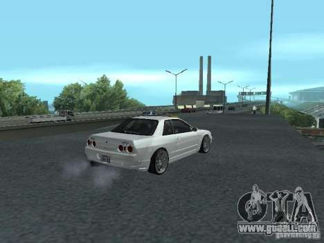 Nissan Skyline R32 Zenki for GTA San Andreas back view