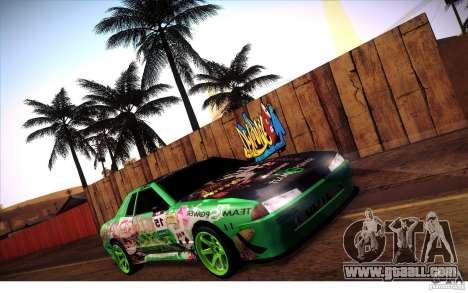 Elegy Toy Sport v2.0 Shikov Version for GTA San Andreas inner view