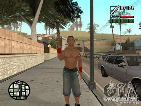 John Cena for GTA San Andreas forth screenshot