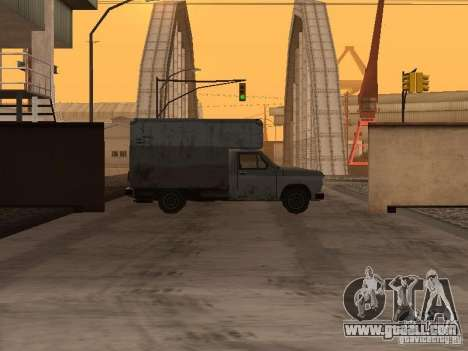 The revived military base in docks v3.0 for GTA San Andreas second screenshot