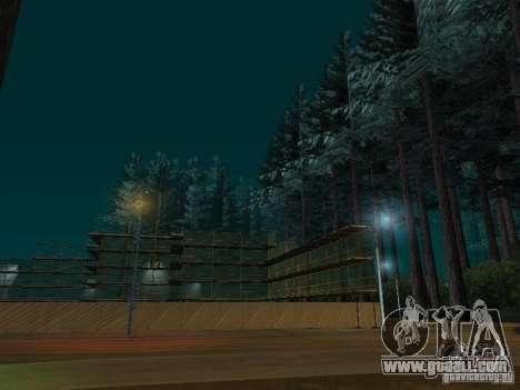 Forest in Las Venturas for GTA San Andreas second screenshot