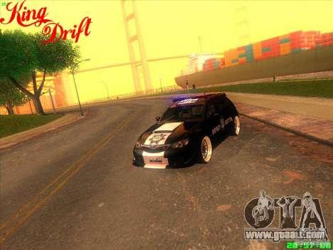 Subaru Impreza WRX Police for GTA San Andreas