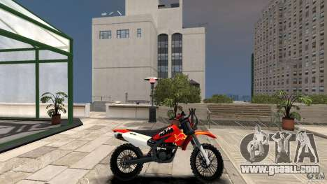 KTM EXC 450 for GTA 4 left view
