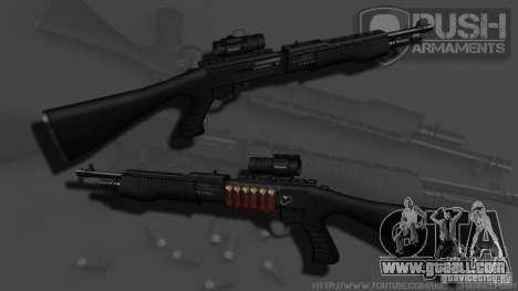 SPAS-12 Tactical for GTA 4 third screenshot
