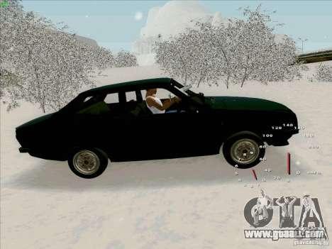 Dacia 1310 Sport for GTA San Andreas left view