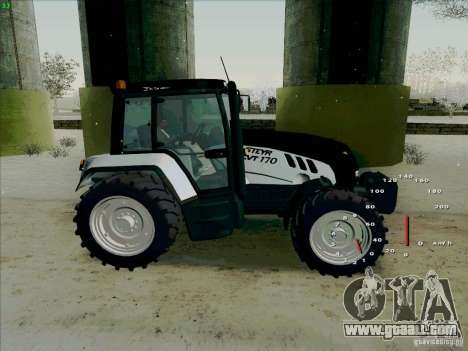 Steyr CVT 170 for GTA San Andreas left view