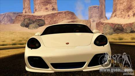 Porsche Cayman R 987 2011 V1.0 for GTA San Andreas side view