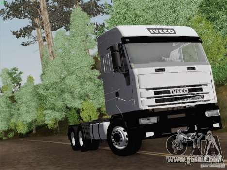 Iveco Eurostar for GTA San Andreas wheels