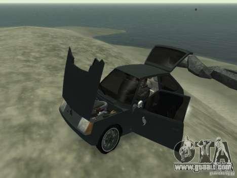 ZAZ 1102 Tavria for GTA 4 inner view