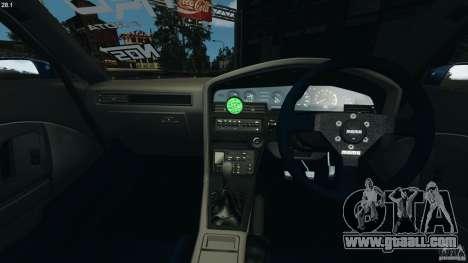 Toyota Supra 3.0 Turbo MK3 1992 v1.0 for GTA 4 back view
