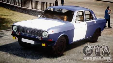 Gaz-2410 Volga 1989 v2.1 for GTA 4