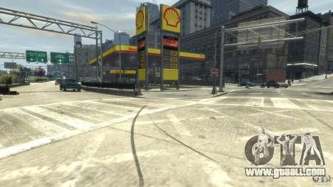 Shell Petrol Station for GTA 4 second screenshot