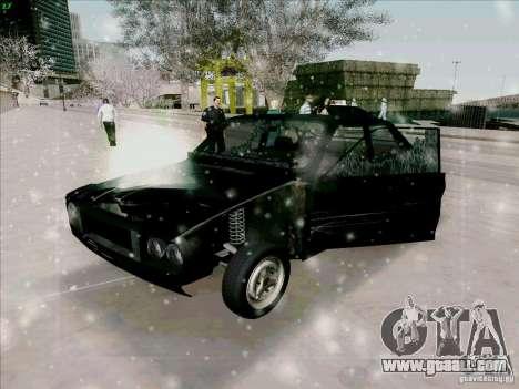 Dacia 1310 Sport for GTA San Andreas upper view