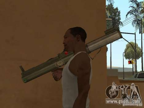 LAW Rocket launcher for GTA San Andreas forth screenshot