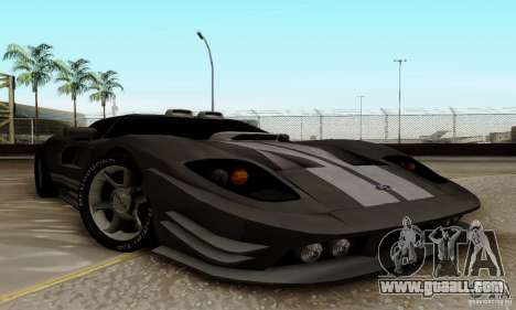 Ford GT Tuning for GTA San Andreas left view