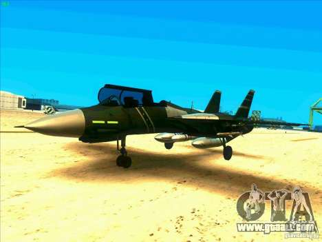 F-14 Tomcat Schnee for GTA San Andreas