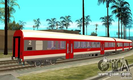Car 21-31 CFR for GTA San Andreas back left view