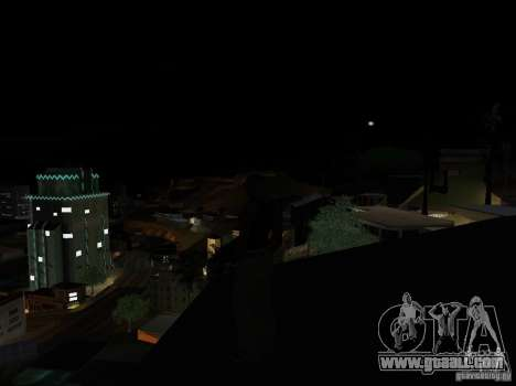 Realistic Night Mod for GTA San Andreas