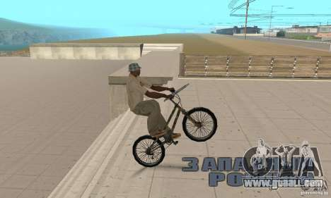 Trial bike for GTA San Andreas right view