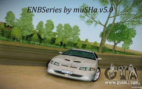 ENBSeries by muSHa v5.0 for GTA San Andreas