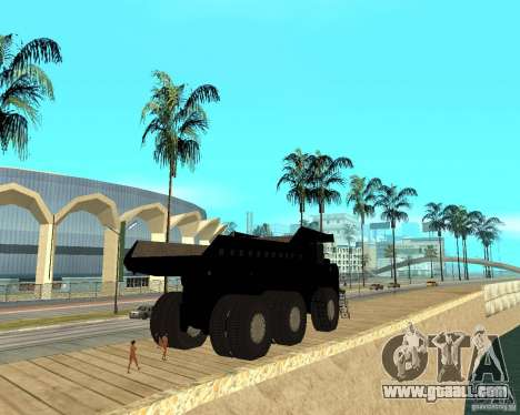 Dumper for GTA San Andreas back left view