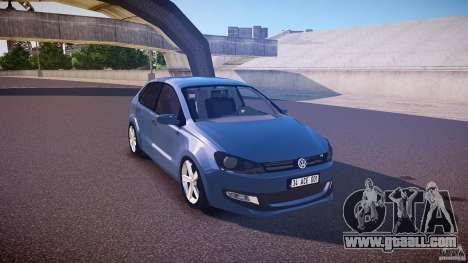 Volkswagen Polo 2011 for GTA 4 inner view