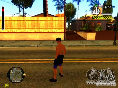 Beach people for GTA San Andreas third screenshot