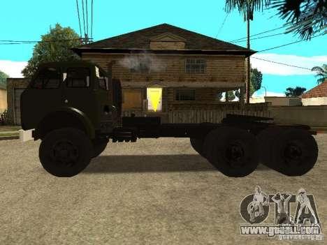 MAZ 515V for GTA San Andreas left view