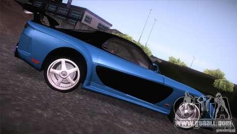 Mazda RX-7 Veilside v3 for GTA San Andreas back left view