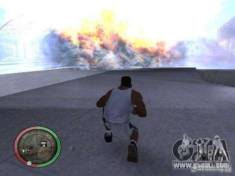 Dynamite MOD for GTA San Andreas forth screenshot