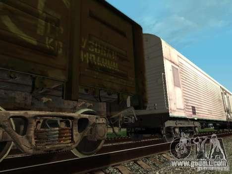 Refrežiratornyj wagon Dessau No. 3 for GTA San Andreas right view