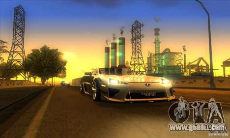 ENB Graphics by KINOman for GTA San Andreas fifth screenshot