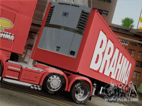 Trailer for Scania R620 Brahma for GTA San Andreas