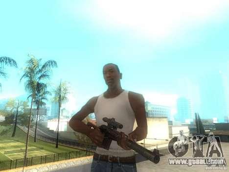 Rifle VSS Vintorez for GTA San Andreas
