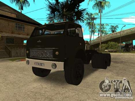 MAZ 515V for GTA San Andreas