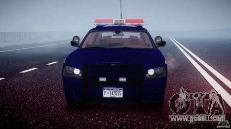 Dodge Charger New York State Trooper CHGR-V2.1M for GTA 4 bottom view
