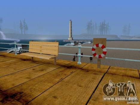 New Beach texture v2.0 for GTA San Andreas second screenshot
