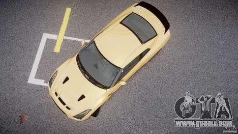 Nissan GTR R35 SpecV v1.0 for GTA 4 back view