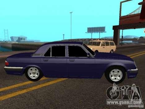 GAZ Volga 31105 restyling for GTA San Andreas left view