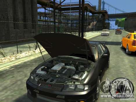 Nissan Skyline GT-R V-Spec (R33) 1997 for GTA 4 inner view