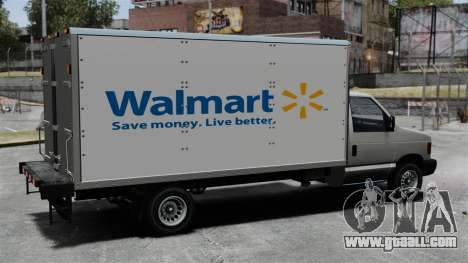 The new advertisement for truck Steed for GTA 4 left view