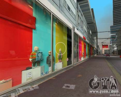New Downtown: Shops and Buildings for GTA Vice City second screenshot