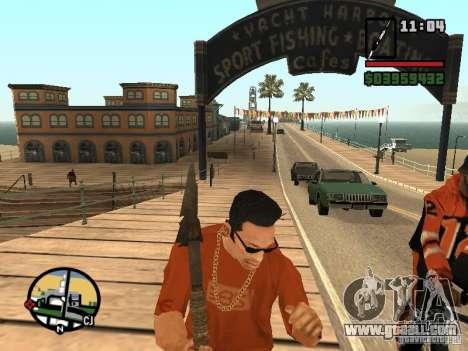 Spear for GTA San Andreas third screenshot