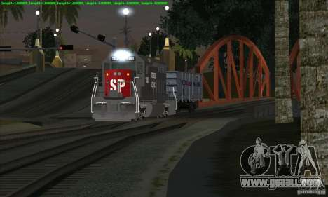 Increase in traffic of trains for GTA San Andreas