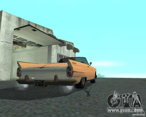 Peyote from GTA 4 for GTA San Andreas left view
