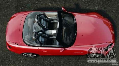Honda S2000 v1.1 for GTA 4 right view