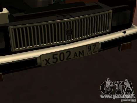GAZ 3102 for GTA San Andreas side view