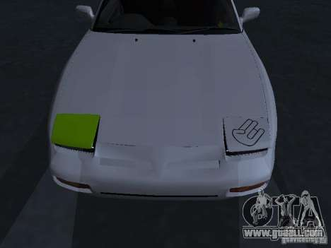 Nissan 180SX JDM for GTA San Andreas side view