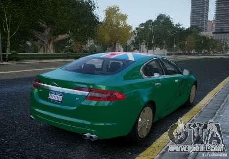 Jaguar XFR 2010 V.2.0 for GTA 4 left view