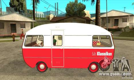Saab 92HK Motorhome 1965 for GTA San Andreas left view